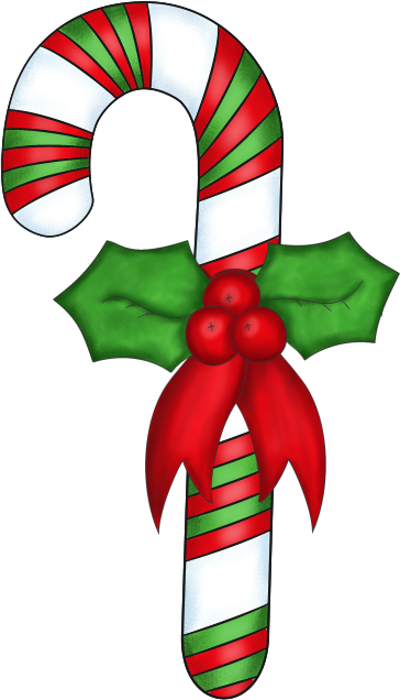 Candy cane free christmas clipart clipartix