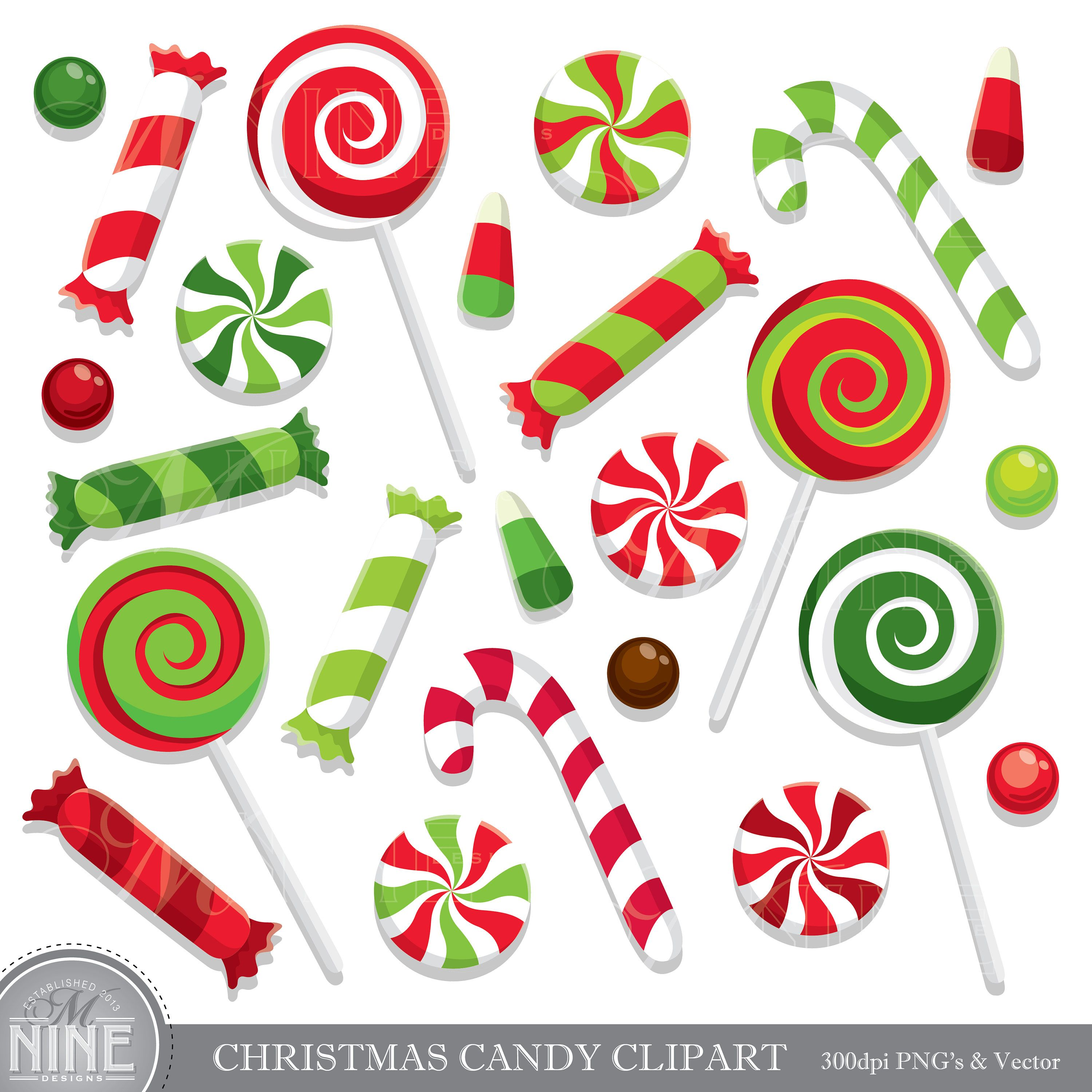 Candy clipart christmas, Candy christmas Transparent FREE
