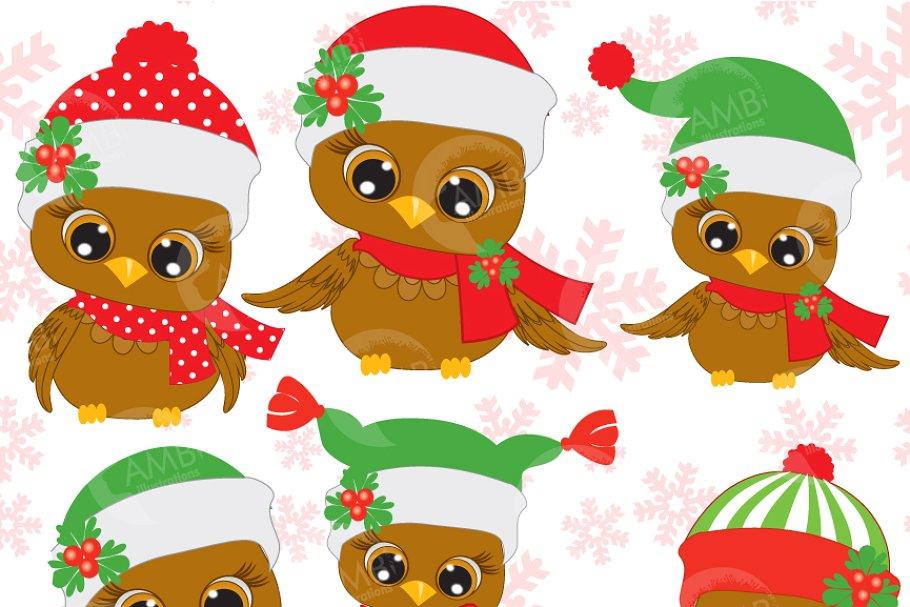 Six cute christmas.