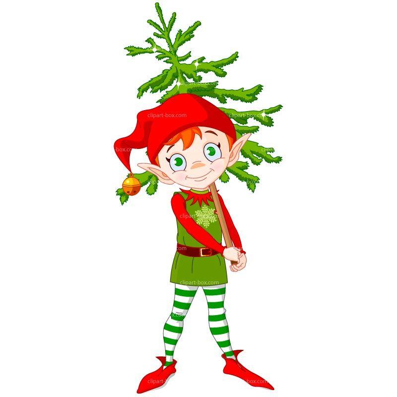 Funny Elf Clip Art