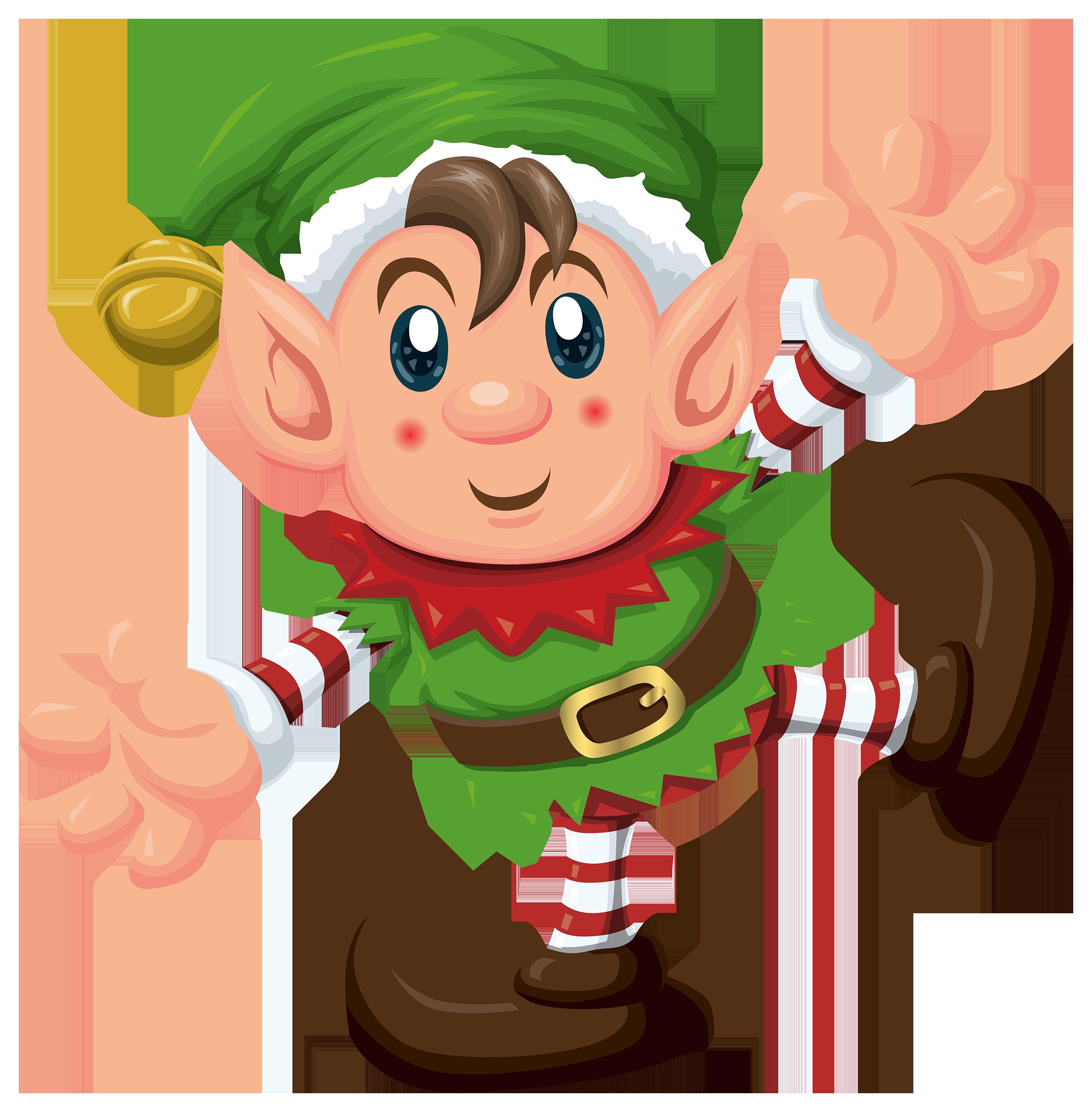 Cute Elf PNG Clipart
