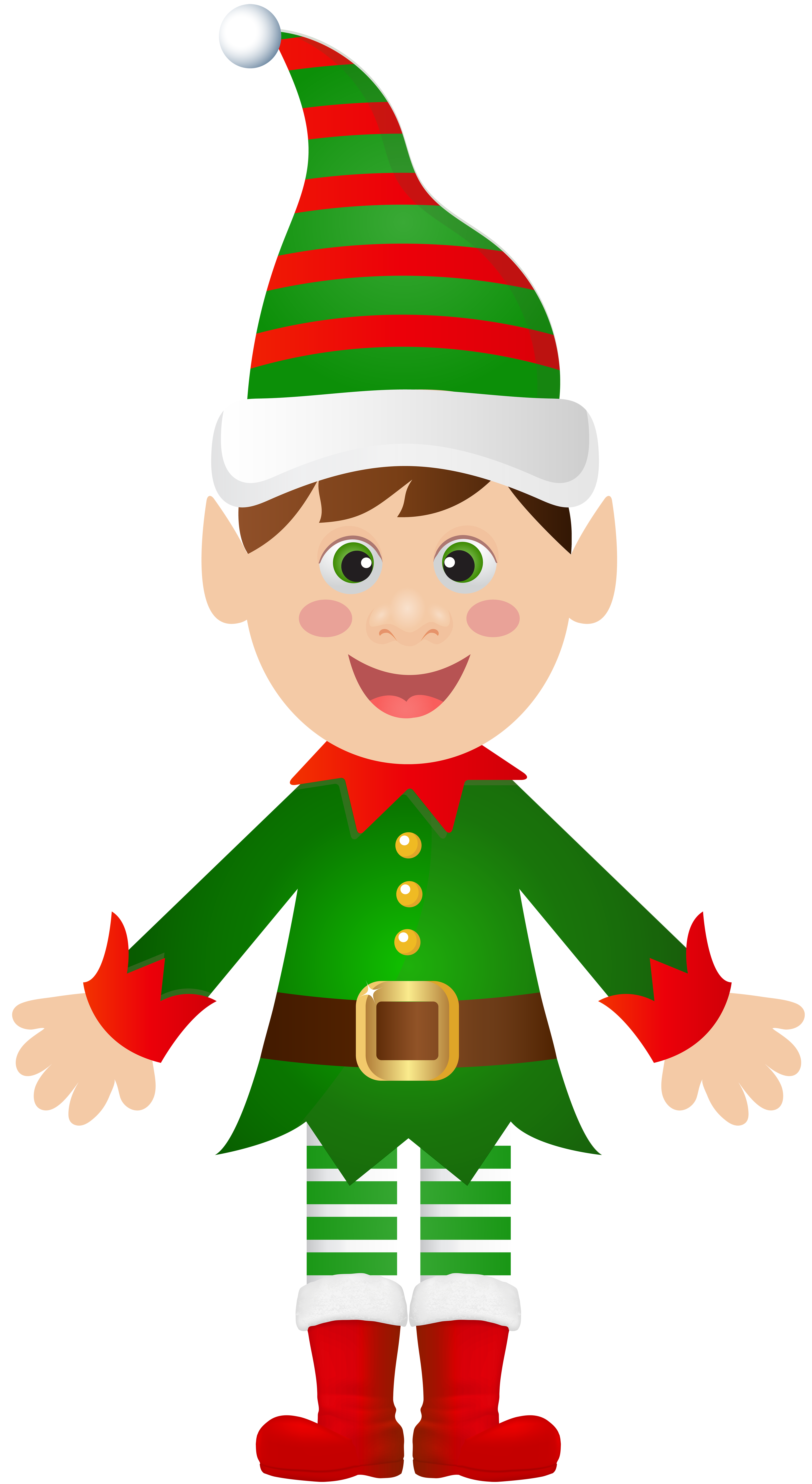 Christmas elf transparent.