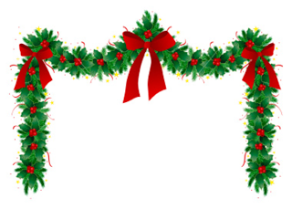 Christmas Garland Clip Art Free Download