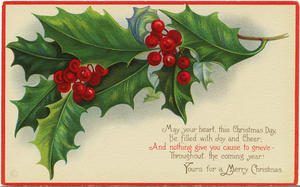 Free Old Fashioned Christmas Clipart