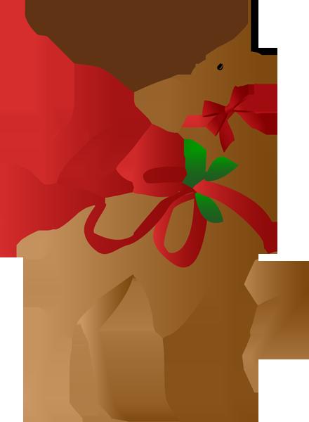 Christmas reindeer christmassticker.
