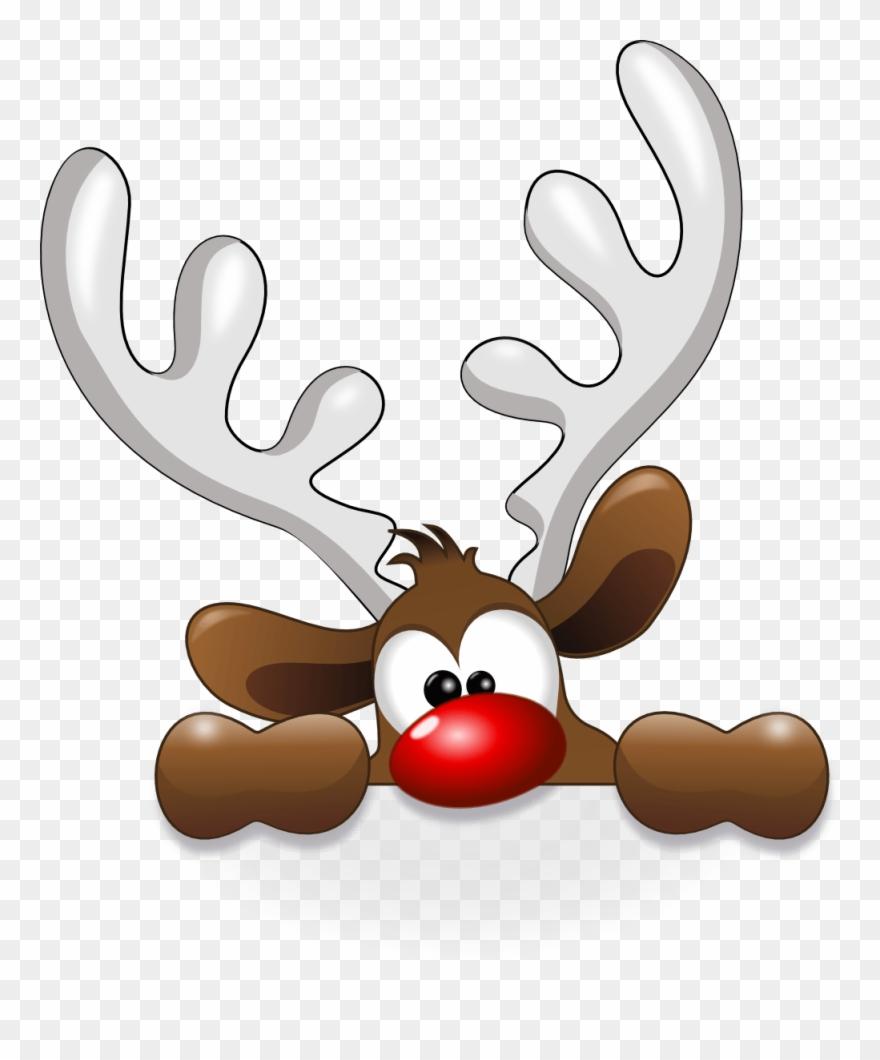 Free Christmas Clipart Reindeer
