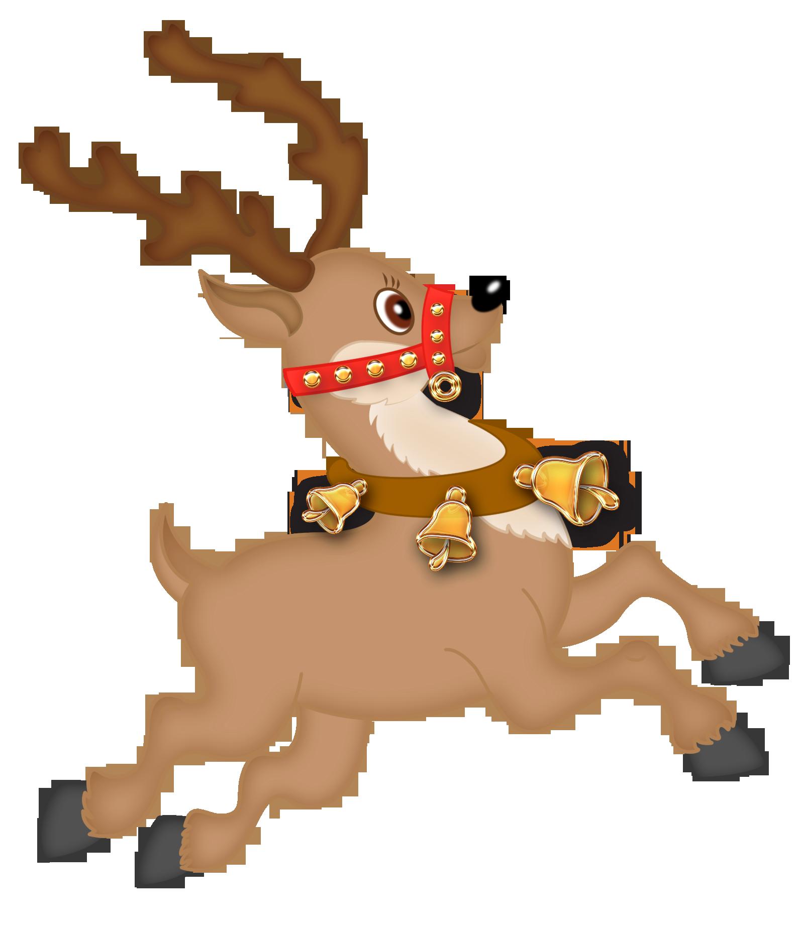 Cute Reindeer PNG Clipart