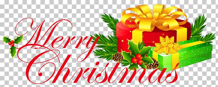Christmas transparent merry.