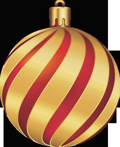 Christmas gold and.
