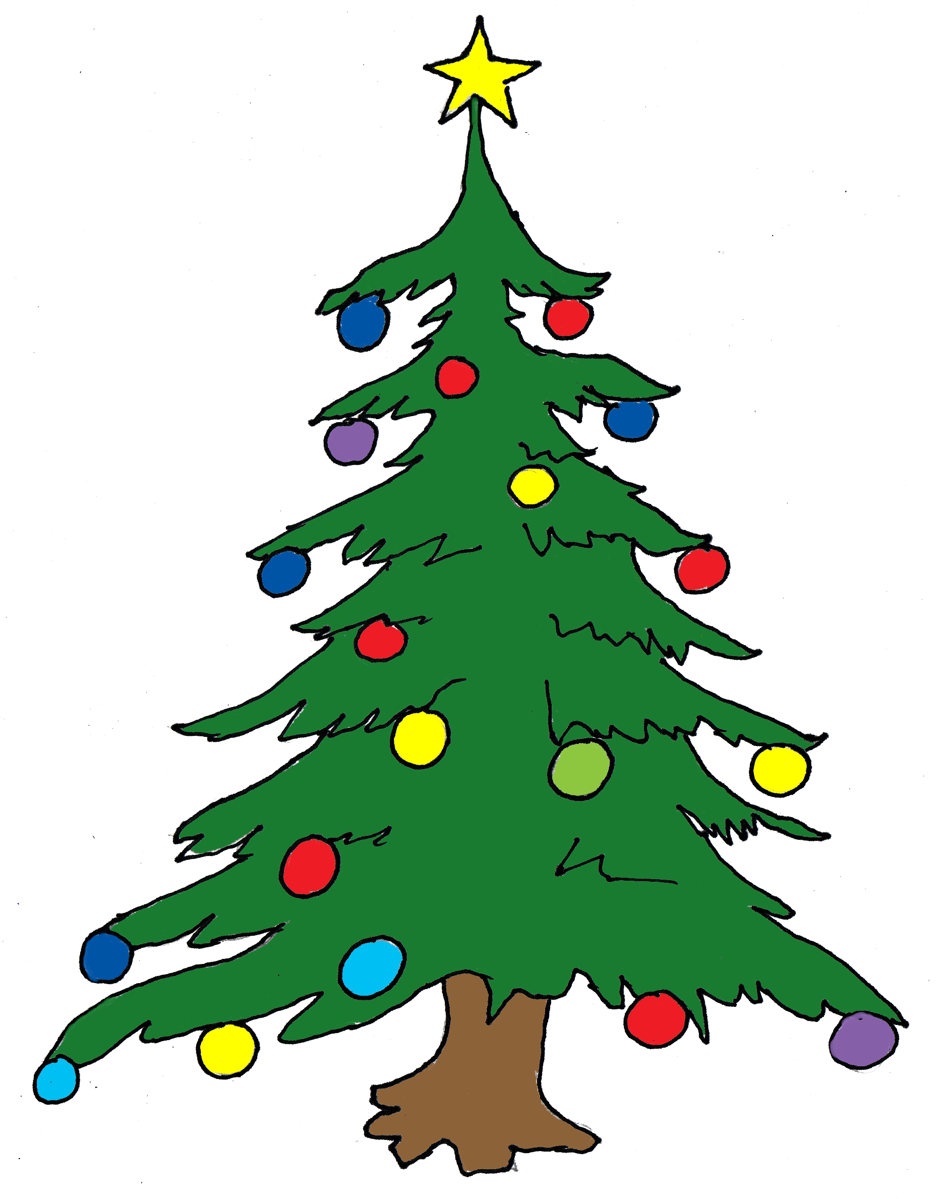 Free Christmas Tree Cliparts, Download Free Clip Art, Free