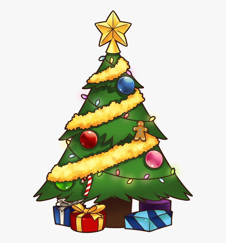 Christmas Tree Free To Use Clip Art Clipartandscrap
