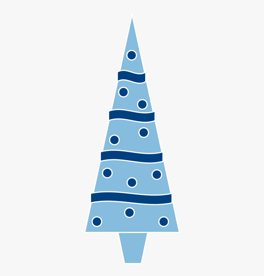 Blue Christmas Tree Clipart Clipartxtras