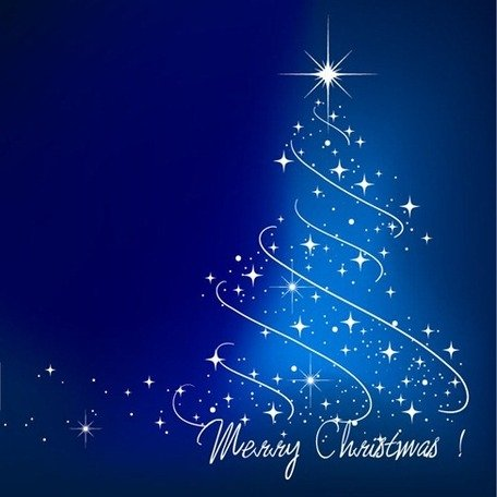 Free Blue Christmas Trees Clipart and Vector Graphics