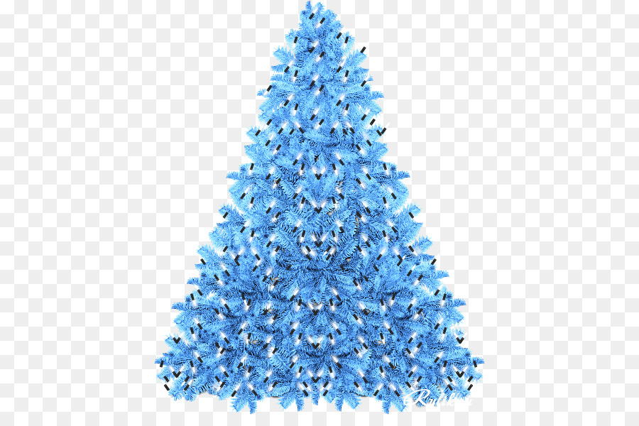 Christmas Tree Blue png download
