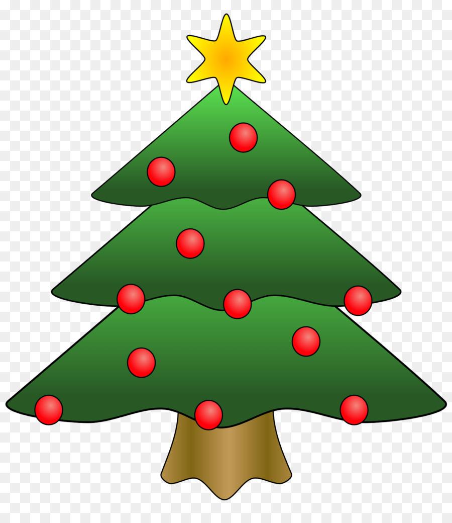 Cartoon Christmas Tree clipart