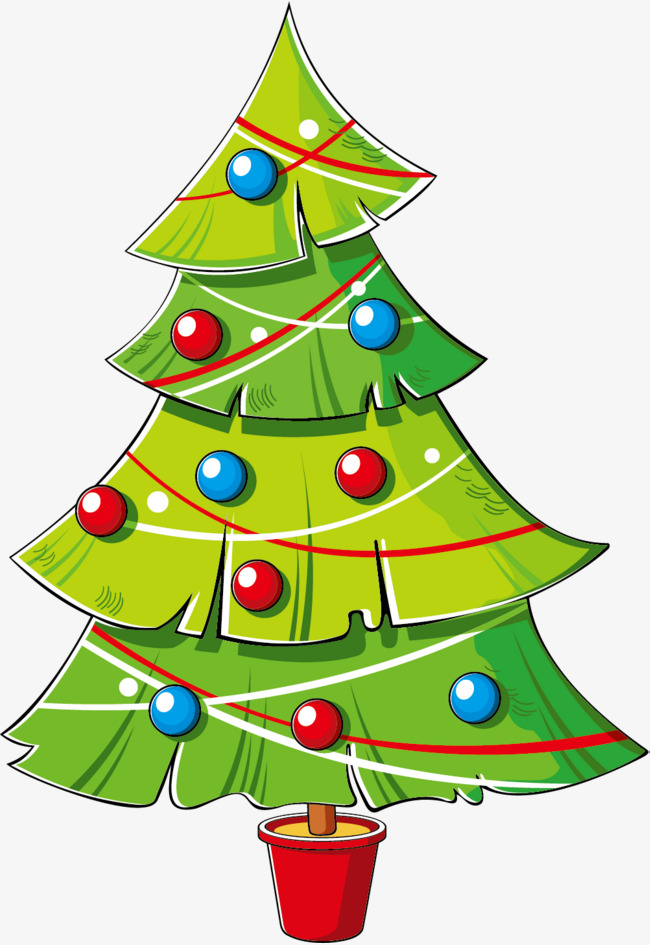 Cartoon Christmas Tree Png, png collections at sccpre