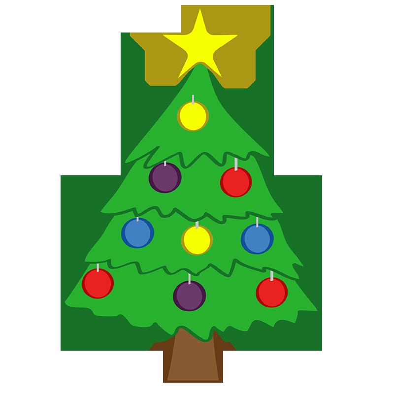 Cute Christmas Tree Clipart