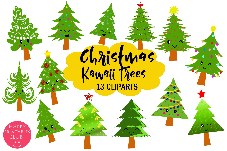 Cute kawaii christmas.