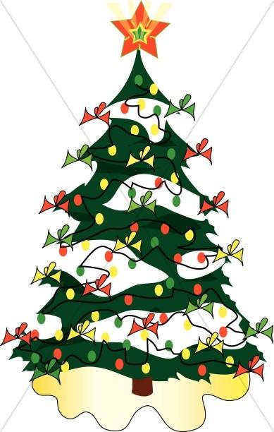 Cute christmas tree.
