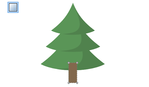 How to Draw a Christmas Tree in Inkscape