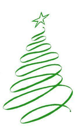 Christmas ribbon clip.