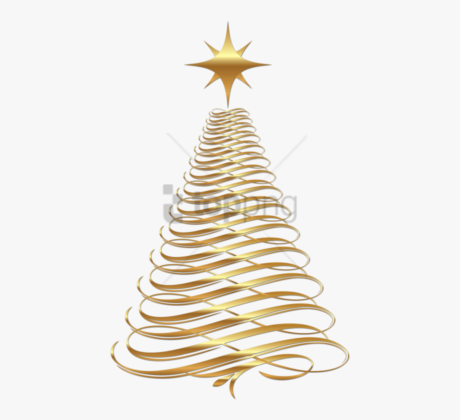 Christmas Decorations Clipart Gold