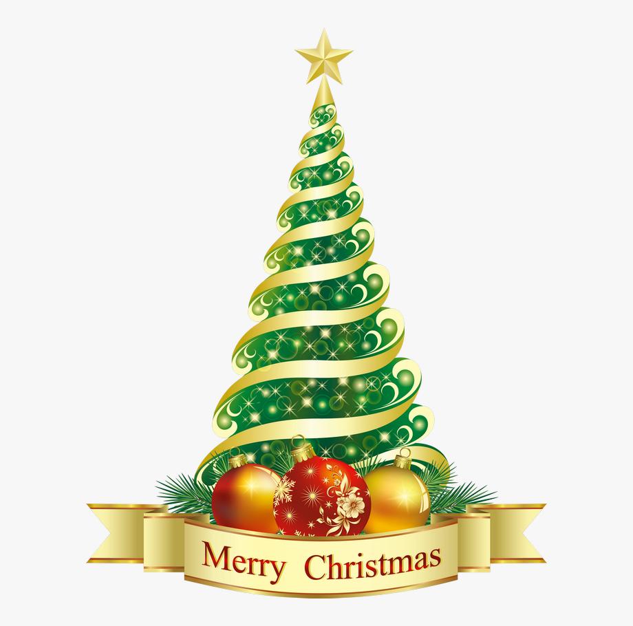 Tacky christmas tree.