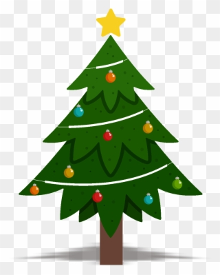 Christmas Tree Design Element Vector Png And Image