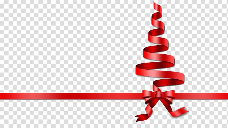 Ribbon Christmas tree , ribbon transparent background PNG