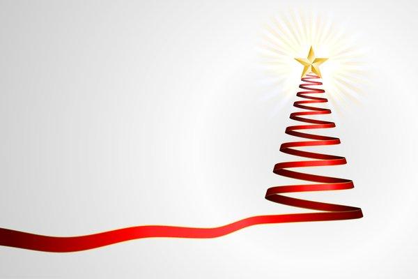 Simple Ribbon Christmas Tree