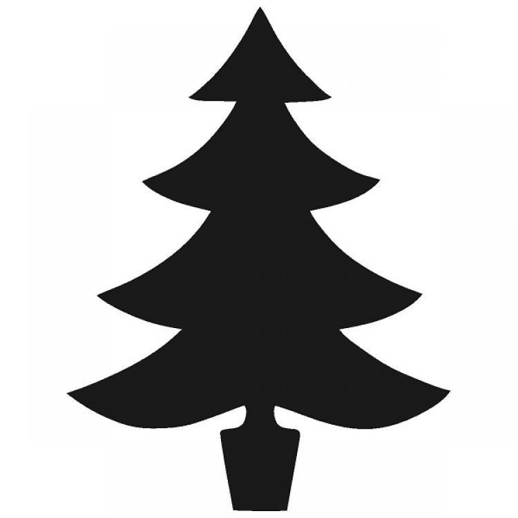 Free Xmas Tree Silhouette, Download Free Clip Art, Free Clip