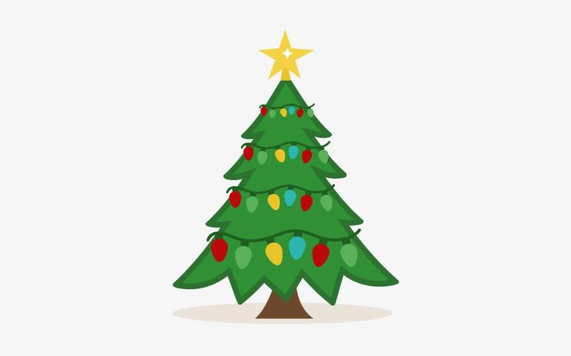 Pretty Clipart Christmas Tree
