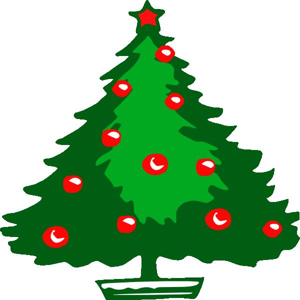 Christmas Tree Clip Art at Clker