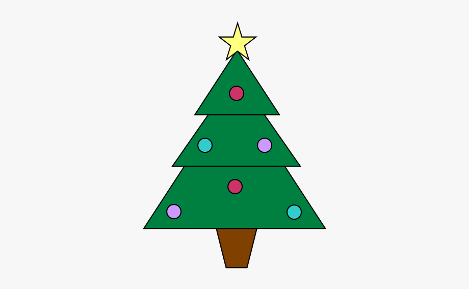 Two Free Christmas Tree Clipart Images