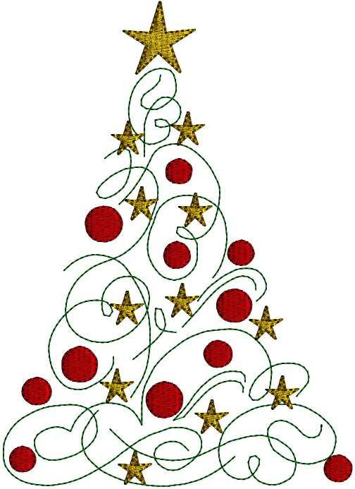 Swirl christmas tree.