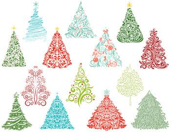 Christmas tree digital.