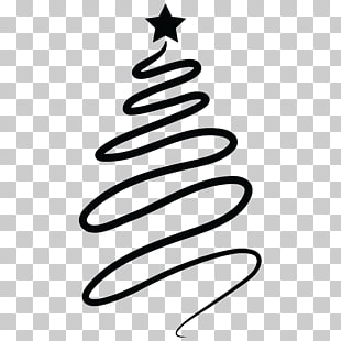 Christmas swirl cliparts.