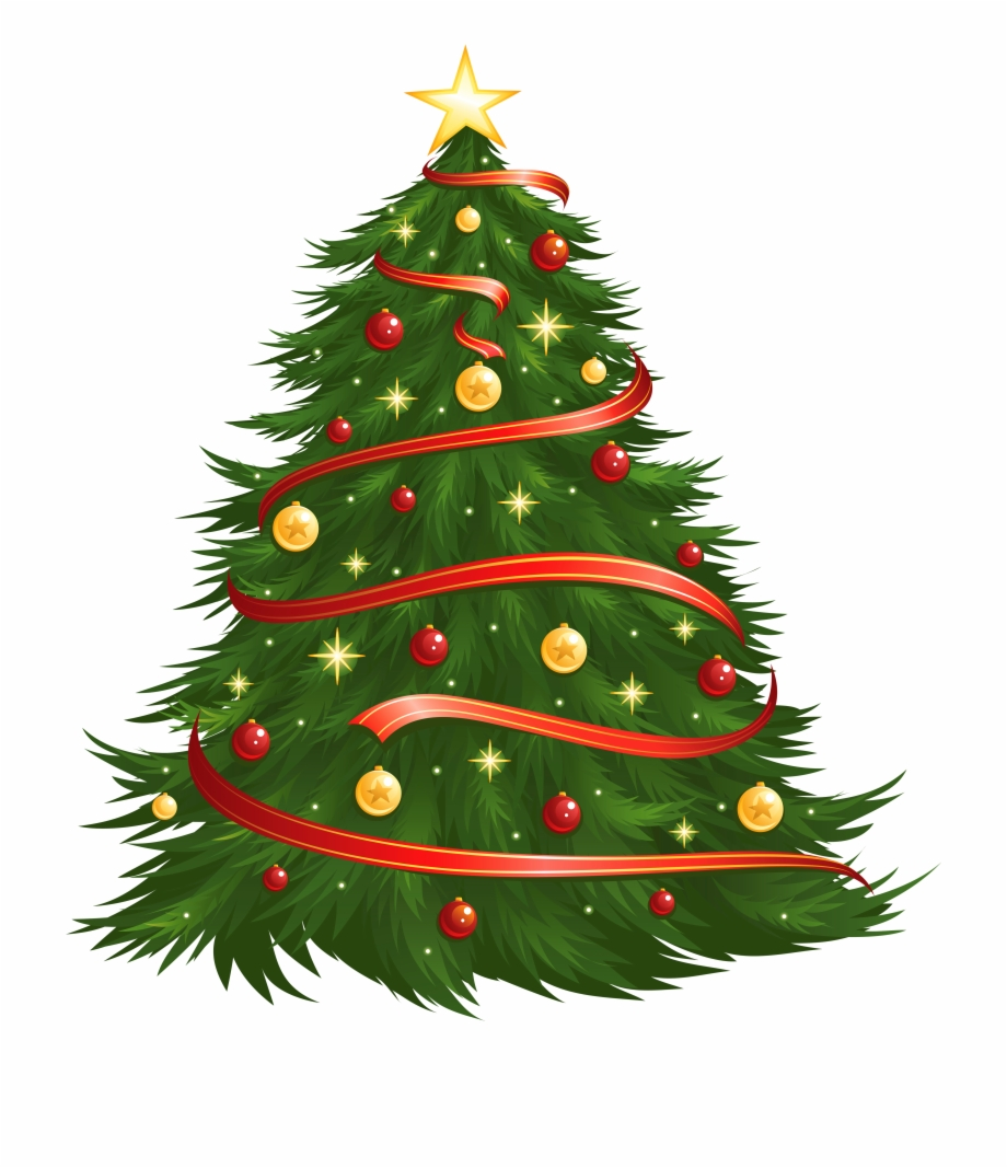 Clip Art Free Library Christmas Tree Clipart Png