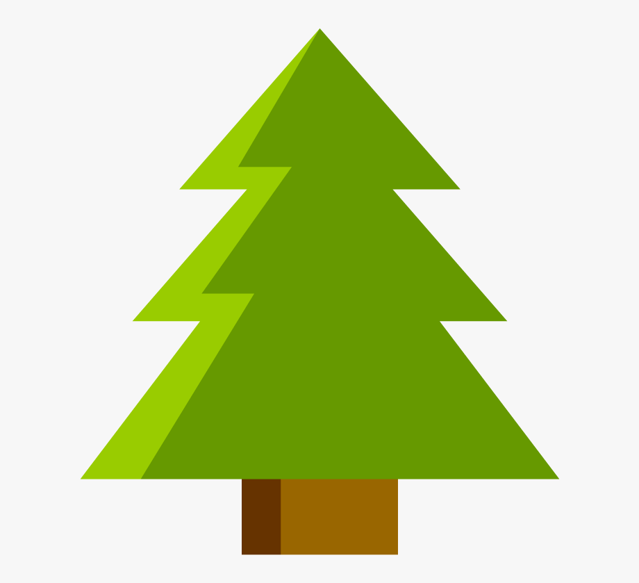 Triangle Tree Clip Art Library Library