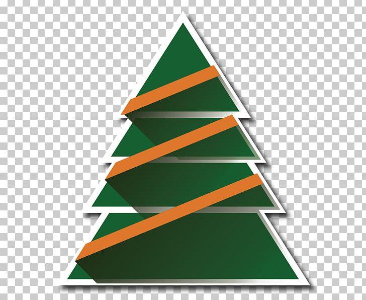 Christmas tree triangle.