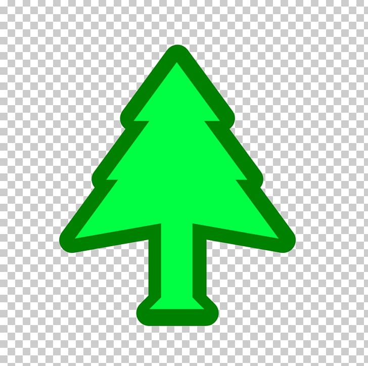 Christmas Tree Line Triangle Green PNG, Clipart, Abies