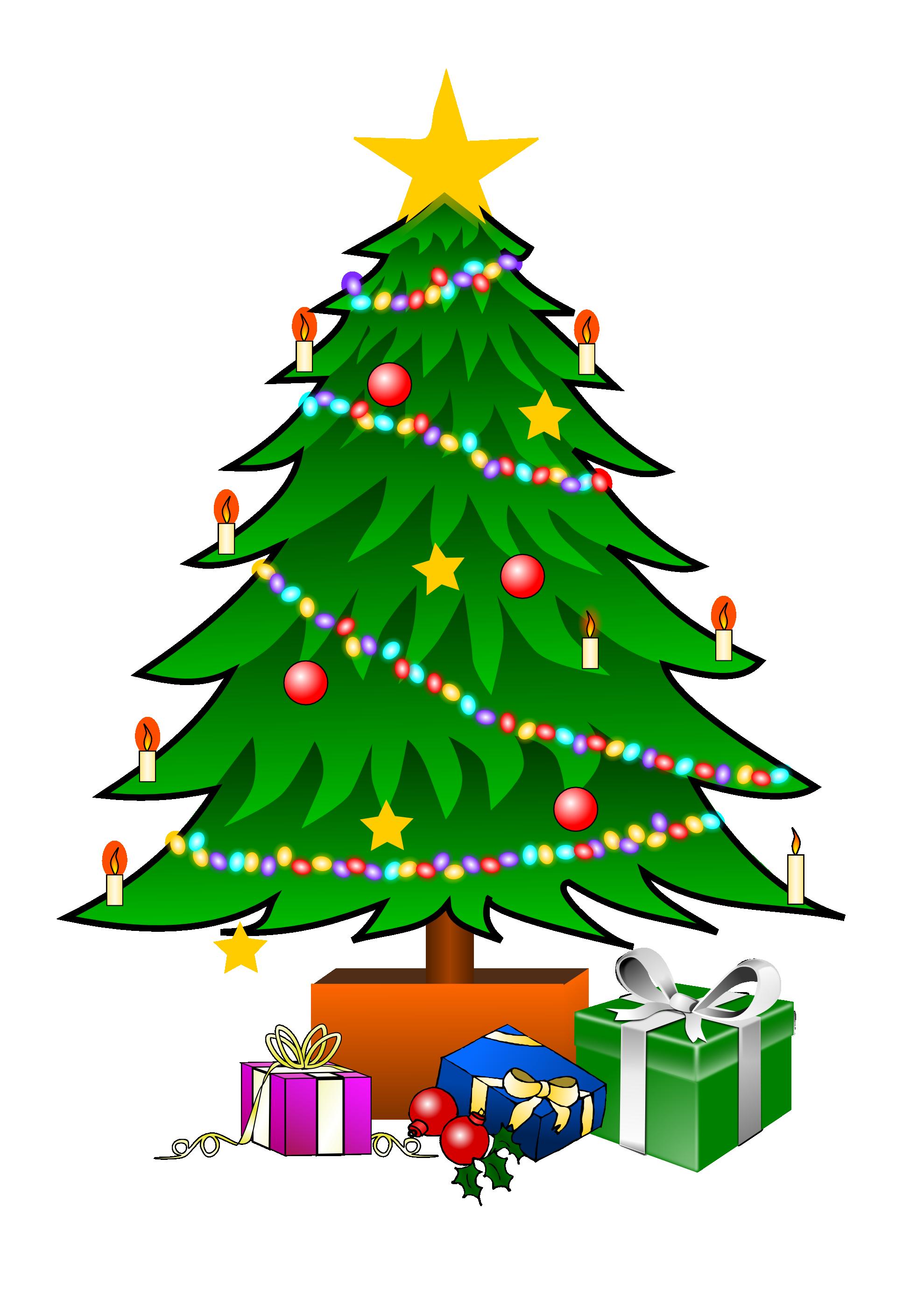 Free Christmas Tree Vector Art, Download Free Clip Art, Free