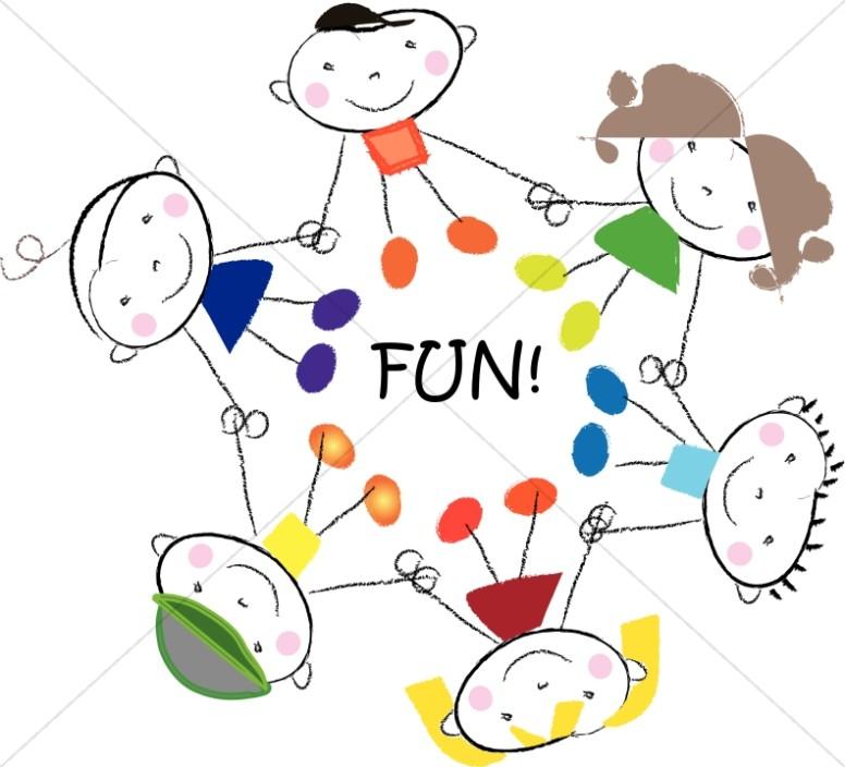 Fun circle kids.