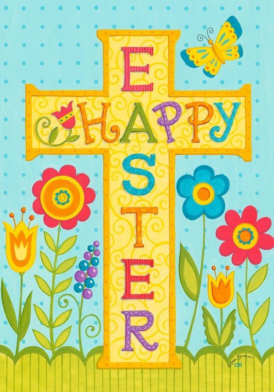 Easter religious clipart.