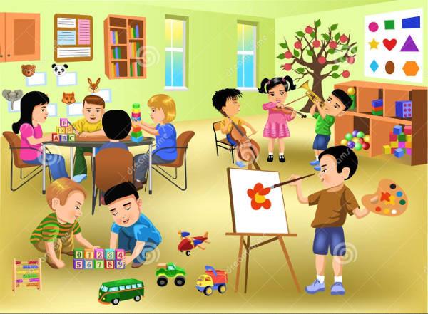 Classroom cliparts free.