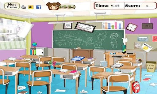 Clean Classroom Clipart images