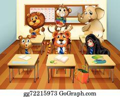 Classroom clip art.