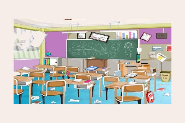 Messy Classroom Png