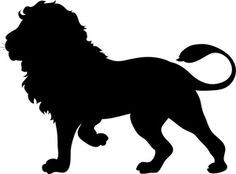 African Animal Silhouette Clip Art