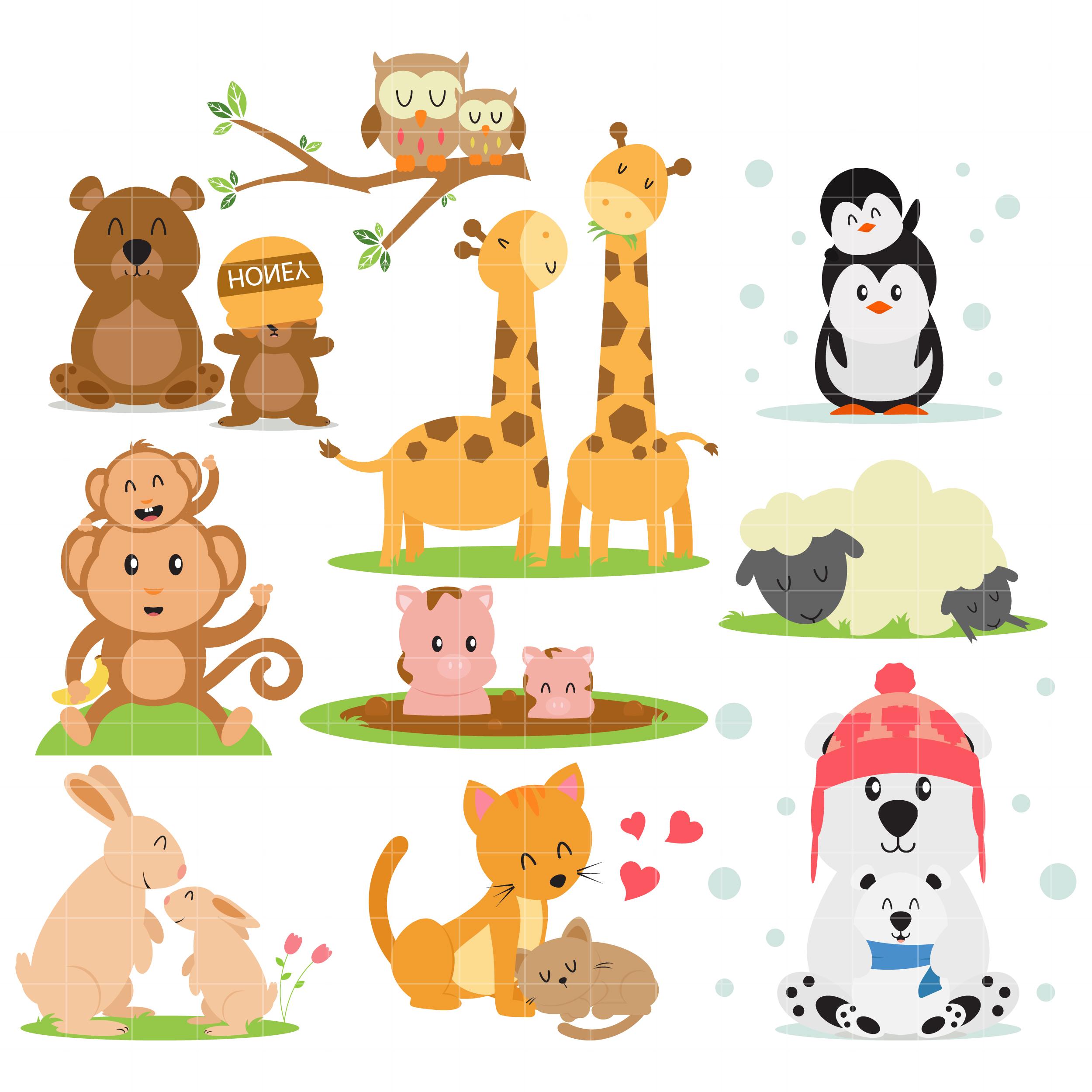 Animal families arts.